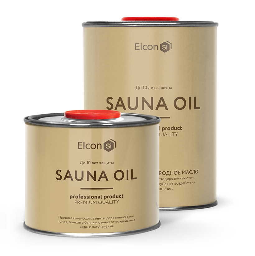 Масло для полков Elcon Sauna Oil